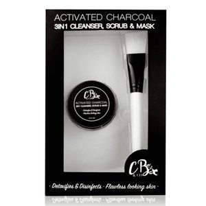 Cougar Charcoal 3 in 1 Cleanser, Scrub And Mask